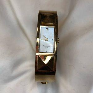 Kate Spade Good As Gold Cuff Bracelet Watch